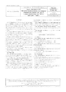 Sprzęt elektroinstalacyjny - Skrzynki bezpiecznikowe na napięcie znamionowe izolacji do 750 V i prąd znamionowy do 100 A - Wymagania i badania BN-85/3066-09