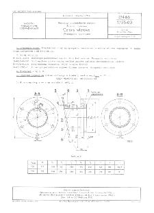 Rurociągi podsadzkowe stalowe - Kolana nastawne - Człony wlotowe - Wymagania techniczne BN-68/1755-03