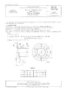 Rurociągi podsadzkowe stalowe - Kolana nastawne - Człony wylotowe - Wymagania techniczne BN-68/1755-04