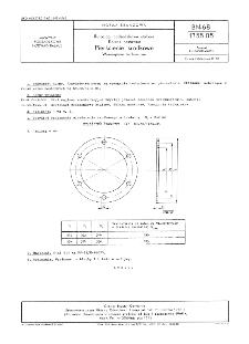 Rurociągi podsadzkowe stalowe - Kolana nastawne - Pierścienie środkowe - Wymagania techniczne BN-68/1755-05