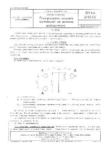 Wyroby lakierowe - Przyspieszone suszenie wymalowań za pomocą podczerwieni BN-64/6110-06