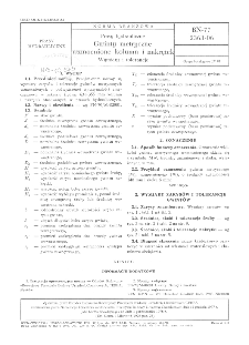 Prasy hydrauliczne - Gwinty metryczne wzmocnione kolumn i nakrętek - Wymiary i tolerancje BN-77/2363-06