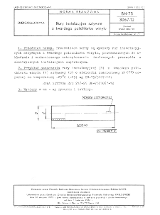 Rury instalacyjne sztywne z twardego polichlorku winylu BN-75/3067-12
