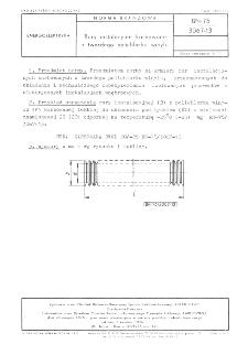 Rury instalacyjne karbowane z twardego polichlorku winylu BN-75/3067-13