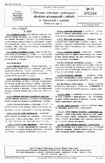 Ochrona katodowa metalowych obiektów pływających i stałych w stoczniach i portach - Wymagania ogólne BN-71/3702-04
