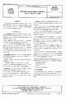 Zbiorniki sprężonego powietrza - Ogólne wymagania i badania BN-83/3722-11