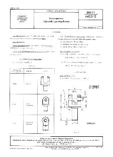 Oprzyrządowanie - Łączniki przegubowe BN-77/4423-12