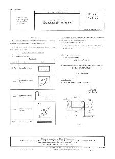 Oprzyrządowanie - Ustawiaki do narzędzi BN-77/4425-02