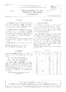 Drut sprężynowy ze stali węglowej o specjalnym przeznaczeniu BN-68/5014-01
