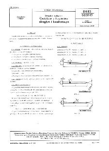 Gwoździe budowlane - Gwoździe z trzpieniem okrągłym i kwadratowym BN-83/5028-12