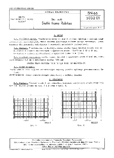 Sita i siatki - Siatki tkane Rabitza BN-66/5032-01
