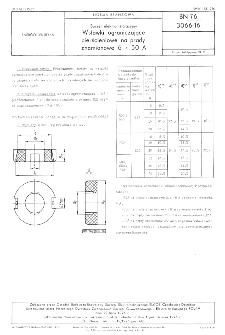 Sprzęt elektroinstalacyjny - Wstawki ograniczające pierścieniowe na prądy znamionowe 6 ÷ 50 A BN-76/3066-16