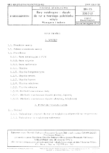 Rury instalacyjne i złączki do rur z twardego polichlorku winylu - Wymagania i badania BN-75/3067-01