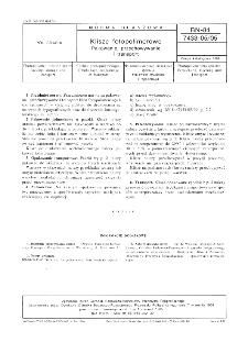 Klisze fotopolimerowe - Pakowanie, przechowywanie, transport BN-84/7433-05/05