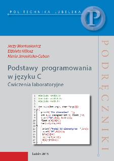 Podstawy programowania w języku C : ćwiczenia laboratoryjne