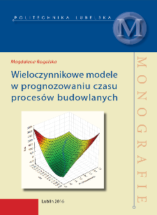 Wieloczynnikowe modele w prognozowaniu czasu procesów budowlanych