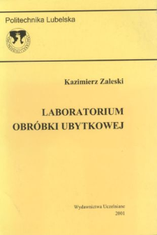 Laboratorium obróbki ubytkowej