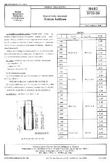 Osprzęt torów kablowych - Króćce kablowe BN-82/3725-20