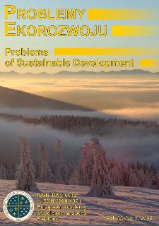 Problemy Ekorozwoju : studia filozoficzno-sozologiczne Vol. 11, Nr 1, 2016