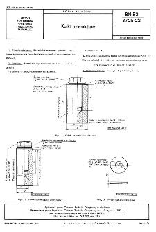 Kołki uziemiające BN-82/3725-22