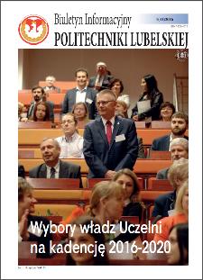 Biuletyn Informacyjny Politechniki Lubelskiej nr 41 - 1(41)2016