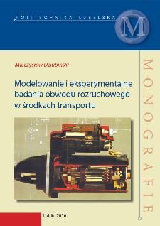 Modelowanie i eksperymentalne badania obwodu rozruchowego w środkach transportu