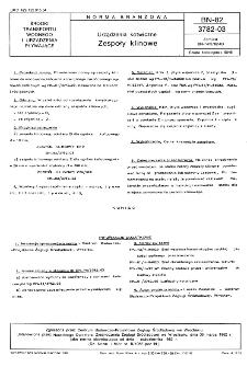 Urządzenia kotwiczne - Zespoły klinowe BN-82/3782-03