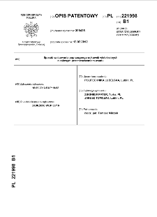 Sposób walcowania poprzecznego odkuwek wielokrotnych z osiowym przemieszczaniem wsadu opis patentowy nr 221998