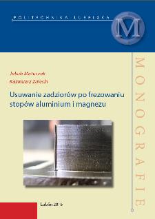 Usuwanie zadziorów po frezowaniu stopów aluminium i magnezu