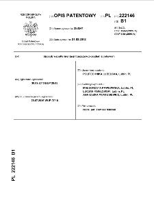 Sposób współfermentacji tłuszczów z osadem ściekowym : opis patentowy nr 222146