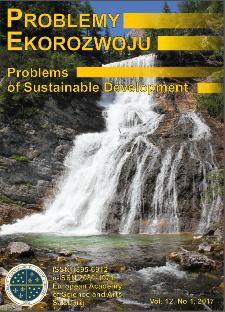 Problemy Ekorozwoju : studia filozoficzno-sozologiczne Vol. 12, Nr 1, 2017