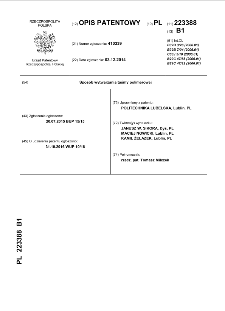 Sposób wytwarzania taśmy polimerowej : opis patentowy nr 223388
