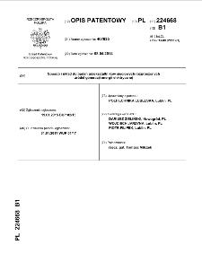Sposób i układ do badań przekształtników sieciowych rozproszonych źródeł generacji energii elektrycznej : opis patentowy nr 224668