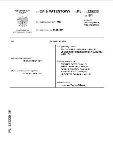 Sprzęgło podatne : opis patentowy nr 225230