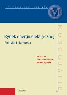 Rynek energii elektrycznej : Polityka i ekonomia