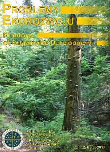 Problemy Ekorozwoju : studia filozoficzno-sozologiczne Vol. 12, Nr 2, 2017