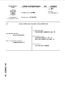 Sposób wytwarzania mieszanek mineralno-asfaltowych opis patentowy nr 226803