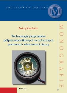 Technologia przyrządów półprzewodnikowych w optycznych pomiarach właściwości cieczy