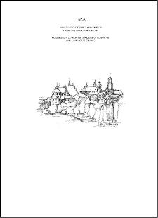 Teka Komisji Architektury, Urbanistyki i Studiów Krajobrazowych = Teka Comission of Architecture, Urban Planning and Landscape Studies. Volume XIII/1