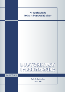 Budownictwo i Architektura Vol. 16(3)2017