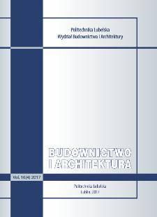 Budownictwo i Architektura Vol. 16(4)2017