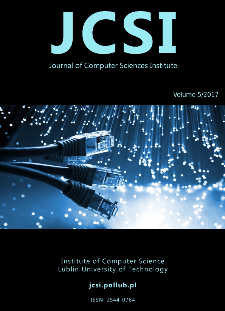 JCSI Journal of Computer Sciences Institute Vol. 5/2017