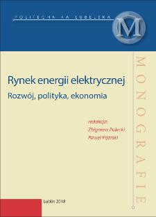 Rynek energii elektrycznej : Rozwój, polityka, ekonomia