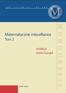 Matematyczne miscellanea. Tom 2
