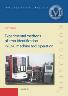 Experimental methods of error identification in CNC machine tool operation