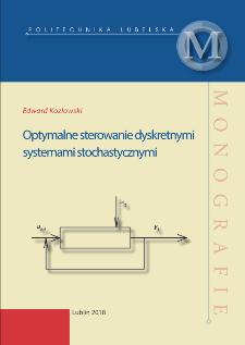 Optymalne sterowanie dyskretnymi systemami stochastycznymi