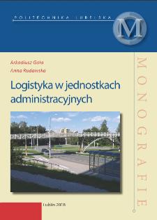 Logistyka w jednostkach administracyjnych