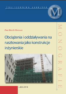 Obciążenia i oddziaływania na rusztowania jako konstrukcje inżynierskie
