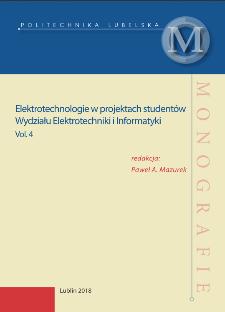 Elektrotechnologie w projektach studentów Wydziału Elektrotechniki i Informatyki. Vol. 4