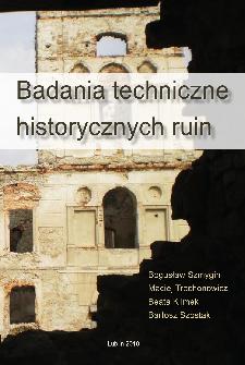 Badania techniczne historycznych ruin